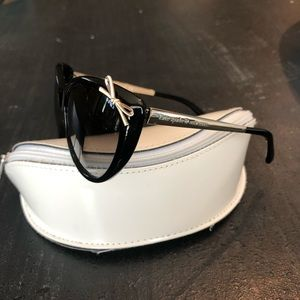 Kate Spade VGUC Black & Grey Livia 2/S sunglasses